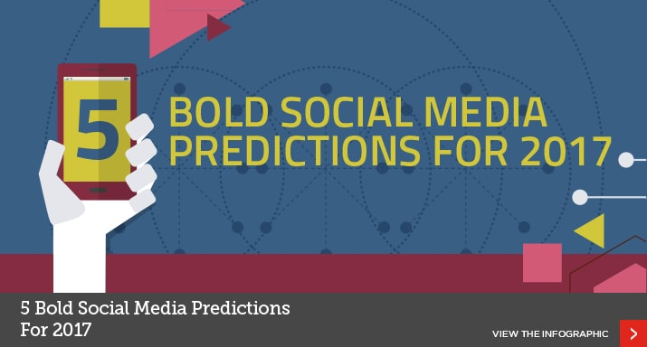 5 Social Media Predictions for 2017 [Infographic]
