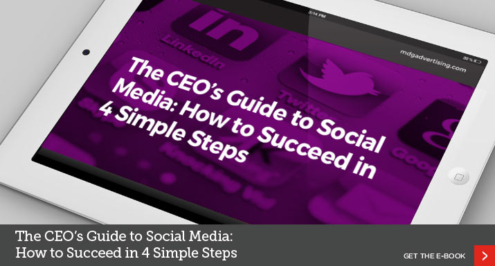 The CEO's Guide to Social Media: How to Succeed in 4 Simple Steps