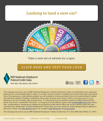 Auto Loan Email