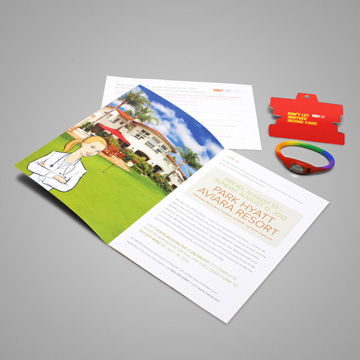 Brochure Spread and Contents