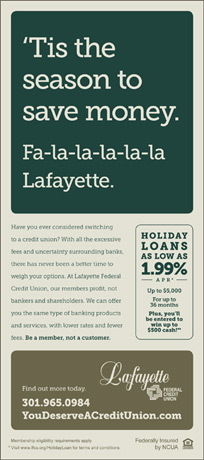 Holiday Print Ad