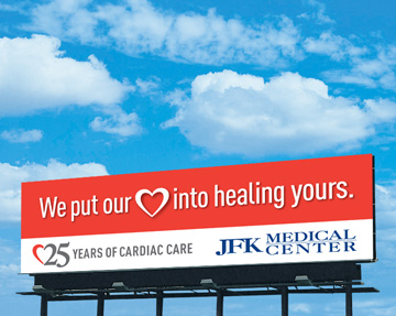 JFK Heart Billboard