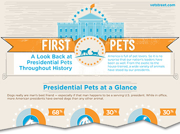 Presidential Pets: An Infographic History of Animals at the White House