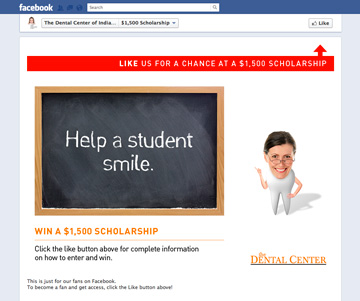 Scholarship Campaign - Gated