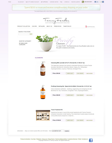 Tammy Fender Website Products