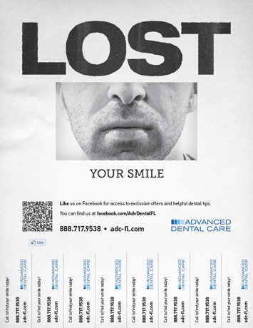 Tear-off Lead Poster - Lost