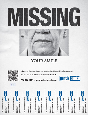 Tear-off Lead Poster - Missing