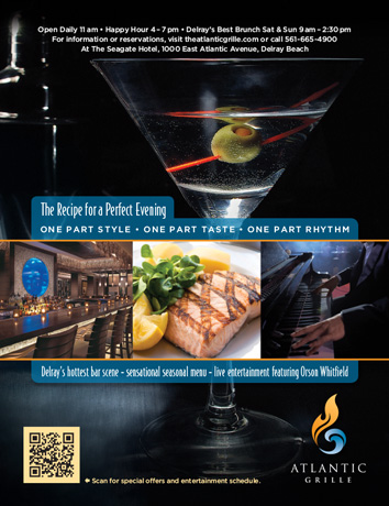 The Recipe for a Perfect Evening Print Ad