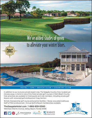 The Seagate Country Club Membership Ad Campaign