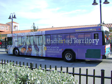 """Uncharted Territory"" Bus Wrap"