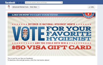 Vote For Your Favorite Hygienist Campaign - Gated