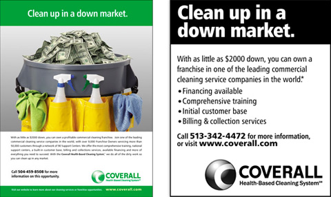 Franchise Sales Print Campaign - Coverall