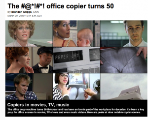 Immortalized in pop culture: The #@*!#*! office copier turns 50