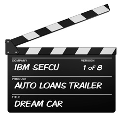 Credit Union Advertising: MDG Makes Multimedia Movie Magic With IBM Southeast Employees' Federal Credit Union's Auto Loan Promotion. First In A Series Of Eight.
