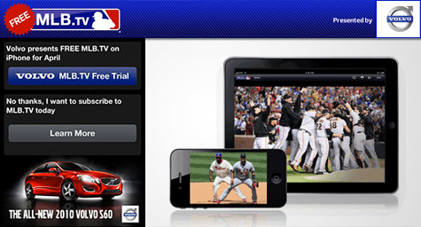Volvo And MLB Pitch A Mobile Deal