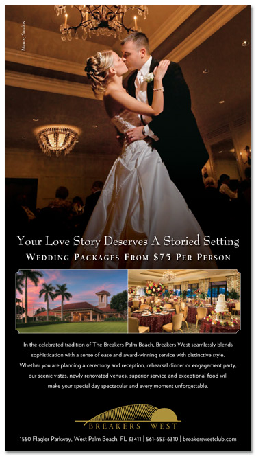 MDG Unveils A Wedding Ad For Breakers West