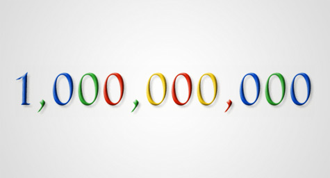 Google Garners One Billion Unique Visitors In May