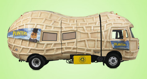 Planters Rolls Out A Green Mobile Makeover