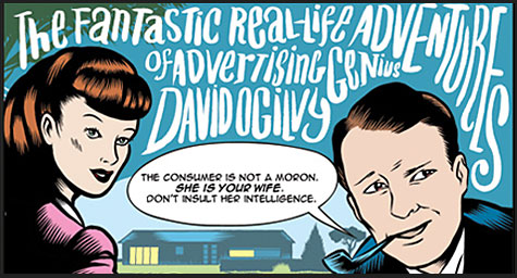 The Creative Character And Caricature Of Ad Genius David Ogilvy