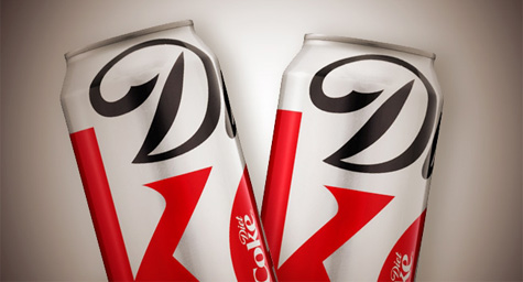 Diet Coke Gets A Refreshing Fall Style