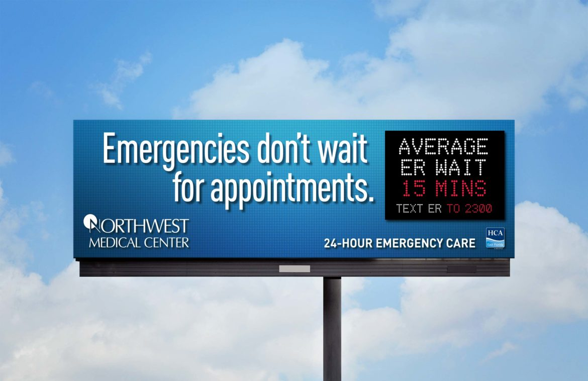 Saving An ER Billboard Campaign Was Time-Critical!