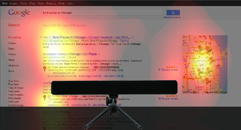 How Full-Spectrum Eye Tracking With Google SERPs Impacts Local Search