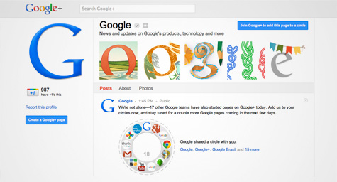 Google Welcomes Brands To Google+ By Launching Pages And Direct Connect