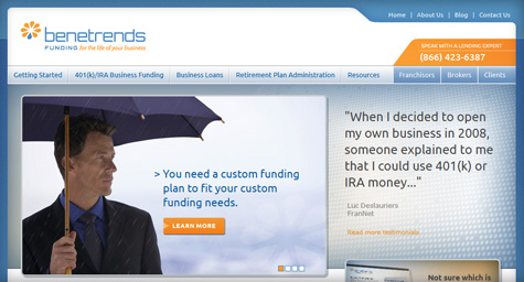 MDG Debuts a Richer Website for Benetrends
