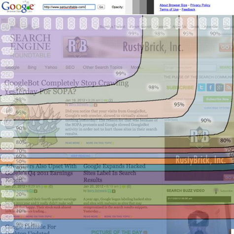 Google Page Layout Algorithm and Penalty