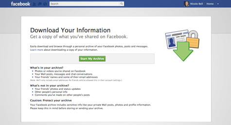 How to See the Personal Data Facebook's Keeping on You