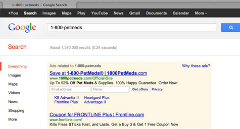 Google Test Shows Paid Search Ads, Email Marketing Integration