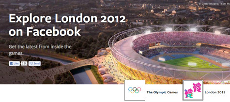 Facebook's Social Olympics Ambition, Explore London 2012: A Dedicated Athlete Portal with No Ads