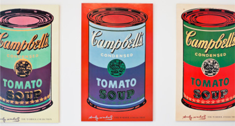 Campbell's Cans Salute Warhol's Iconic Soup Art [Branding]