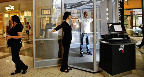 Virtual Fitting Rooms Changing The Clothes Shopping