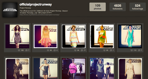 Project Runway Turns to Pinterest and Other Visual Social Media Networks [Social Media Marketing]