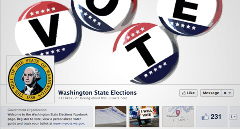 Washington State to Launch Voter Registration on Facebook [Social Media]