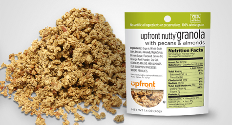 Upfront Foods' Nutty Granola Now Available at Florida Whole Foods Stores