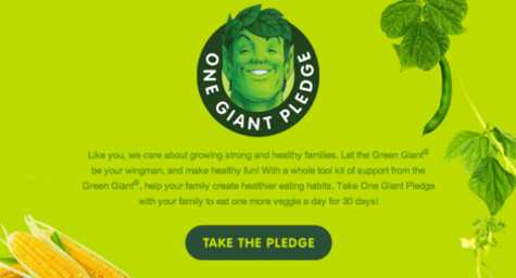 Green Giant to Throw Giant N.Y. Veggie Pledge Event in NYC | Digital Marketing