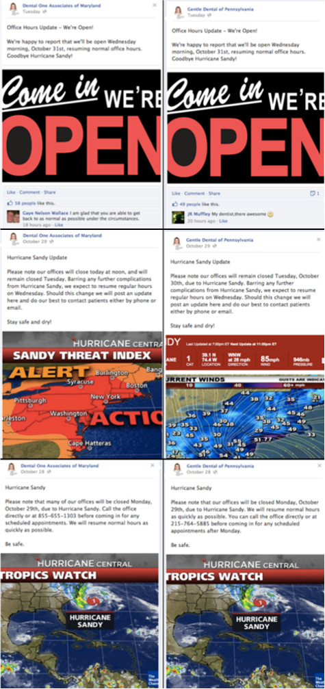 Social Media Used for Crisis Management in the Wake of Hurricane Sandy
