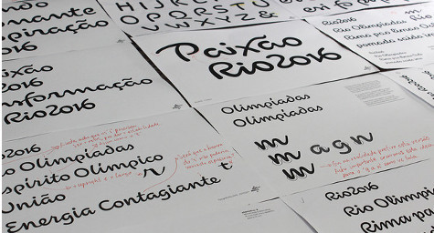 2016 Olympic Typeface is Drawn from Rio de Janeiro's Famous Icons