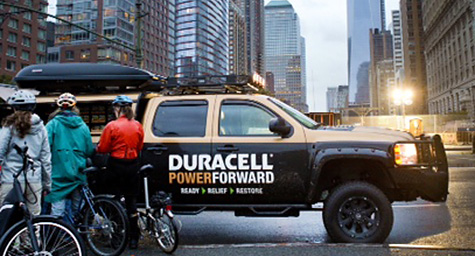 Duracell Brings Charging Stations to Battery Park After Hurricane Sandy