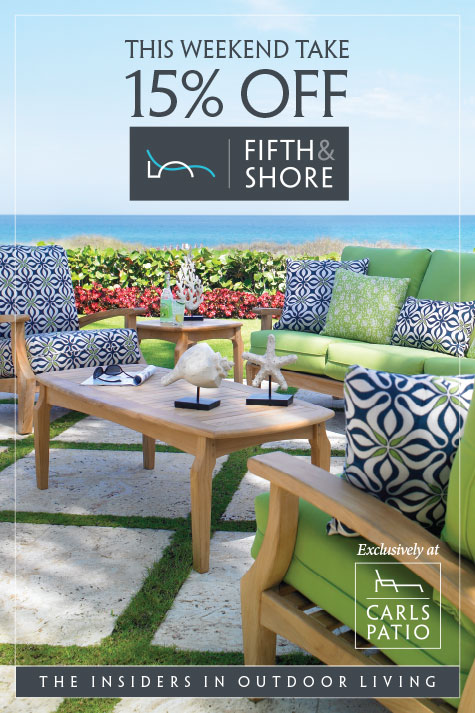 Carls Patio Launches Fifth U0026 Shore, MDG Advertising Builds The Brand