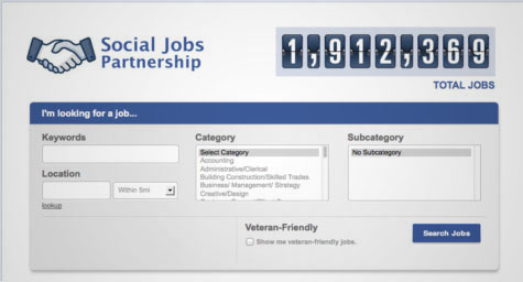Facebook Lands a New Position with Social Jobs Partnership App