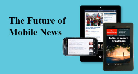 News Ranks High in Mobile Activity on Tablets and Smartphones: The Future of Mobile News [Infographic]