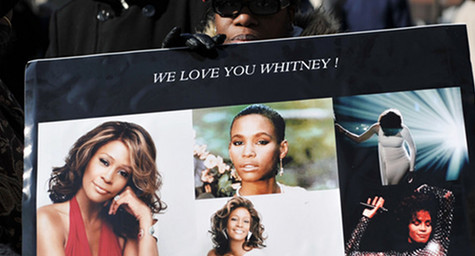 Whitney Houston Beats Gangnam Style as Top Google Search Term in 2012
