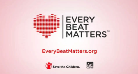 Public Service Advertising Campaign Harnesses Heartbeats to Fight Child Mortality