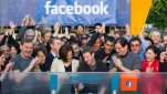 Facebook on the day of its IPO.