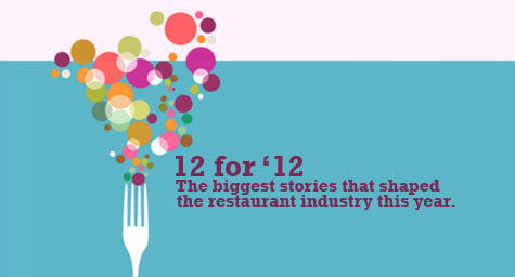 The 12 Biggest Stories That Shaped the Restaurant Industry in 2012