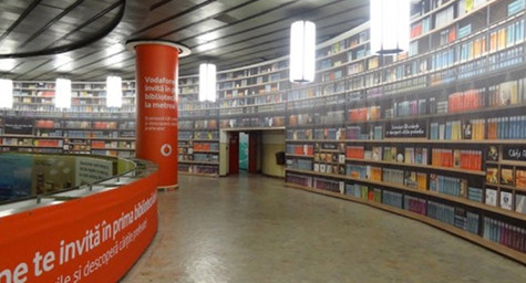 Bucharest Subway Station Turned into Digital Library