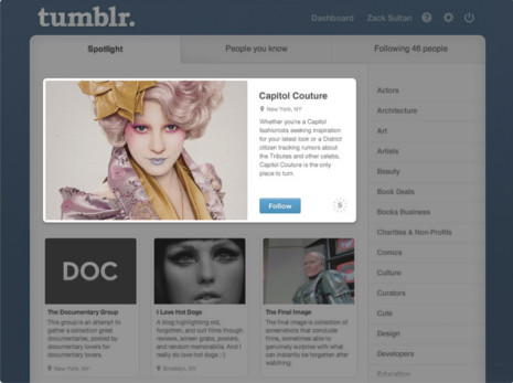 Tumblr Distinguishes Itself with Creative Online Brand Advertising